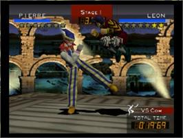 In game image of Fighters Destiny on the Nintendo N64.