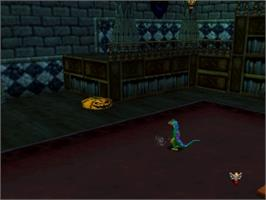 In game image of Gex: Enter the Gecko on the Nintendo N64.