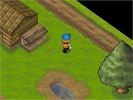 In game image of Harvest Moon 64 on the Nintendo N64.