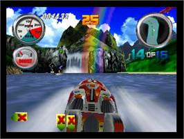 In game image of Hydro Thunder on the Nintendo N64.