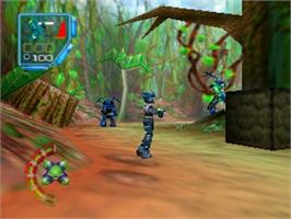 In game image of Jet Force Gemini on the Nintendo N64.
