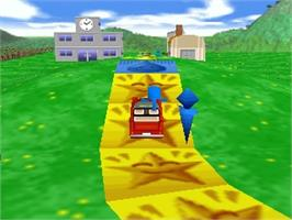 In game image of Jinsei Game 64 on the Nintendo N64.