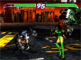 In game image of Killer Instinct Gold on the Nintendo N64.