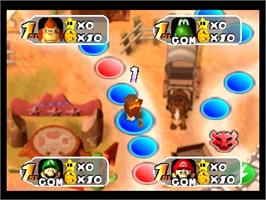 In game image of Mario Party 2 on the Nintendo N64.