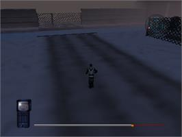 In game image of Mission Impossible on the Nintendo N64.