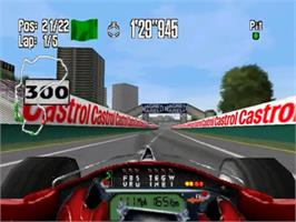 In game image of Monaco Grand Prix on the Nintendo N64.