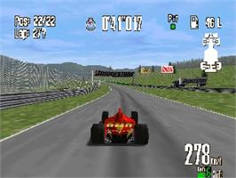 In game image of Monaco Grand Prix Racing Simulation 2 on the Nintendo N64.