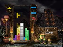 In game image of New Tetris on the Nintendo N64.