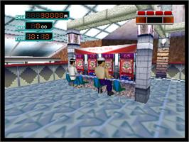 In game image of Pachinko 365 Nichi on the Nintendo N64.