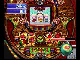 In game image of Parlor! Pro 64: Pachinko Jikki Simulation on the Nintendo N64.