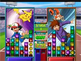 In game image of Pokemon Puzzle League on the Nintendo N64.