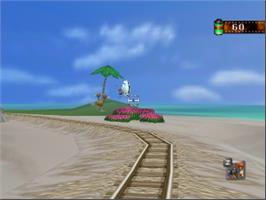 In game image of Pokemon Snap Station on the Nintendo N64.