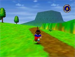 In game image of Quest 64 on the Nintendo N64.