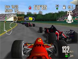 In game image of Racing Simulation 2 on the Nintendo N64.
