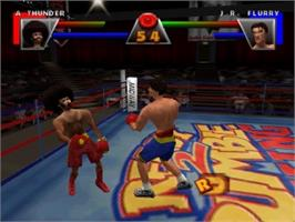 In game image of Ready 2 Rumble Boxing on the Nintendo N64.