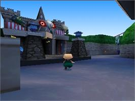 In game image of Rugrats in Paris: The Movie on the Nintendo N64.