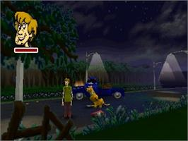 In game image of Scooby Doo! Classic Creep Capers on the Nintendo N64.