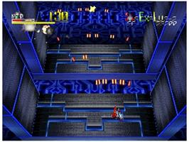 In game image of Star Soldier: Vanishing Earth on the Nintendo N64.
