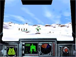 In game image of Star Wars: Teikoku no Kage on the Nintendo N64.