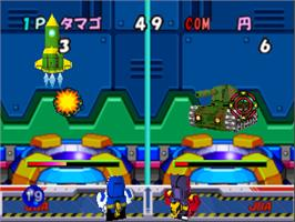 In game image of Super B-Daman: Battle Phoenix 64 on the Nintendo N64.