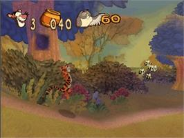 In game image of Tigger's Honey Hunt on the Nintendo N64.
