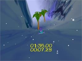 In game image of Tonic Trouble on the Nintendo N64.