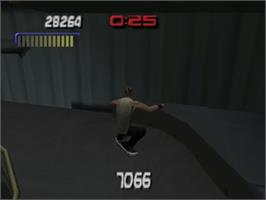 In game image of Tony Hawk's Pro Skater 3 on the Nintendo N64.