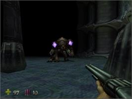 In game image of Violence Killer: Turok New Generation on the Nintendo N64.