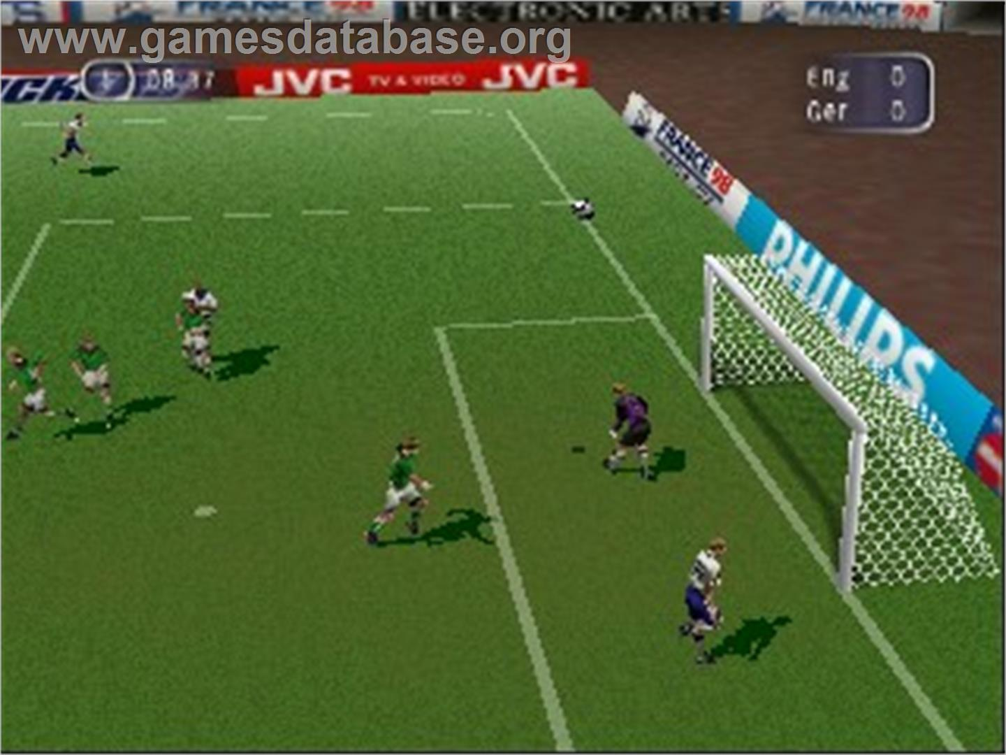 FIFA 98: Road to World Cup - Nintendo N64 - Artwork - In Game