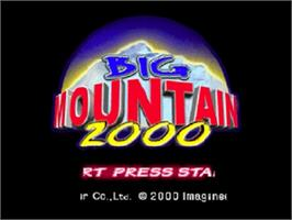 Title screen of Big Mountain 2000 on the Nintendo N64.