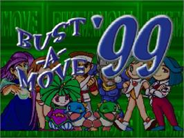 Title screen of Bust a Move '99 on the Nintendo N64.