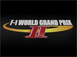 Title screen of F-1 World Grand Prix 2 on the Nintendo N64.