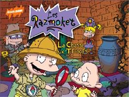 Title screen of Razmoket: La Chasse Aux Tresors on the Nintendo N64.