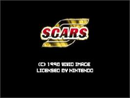 Title screen of S.C.A.R.S. on the Nintendo N64.