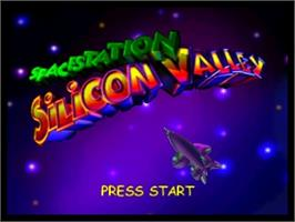 Title screen of Space Station Silicon Valley on the Nintendo N64.