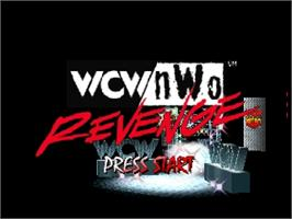 Title screen of WCW/NWO Revenge on the Nintendo N64.
