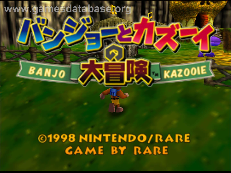banjo kazooie nintendo 64 download game