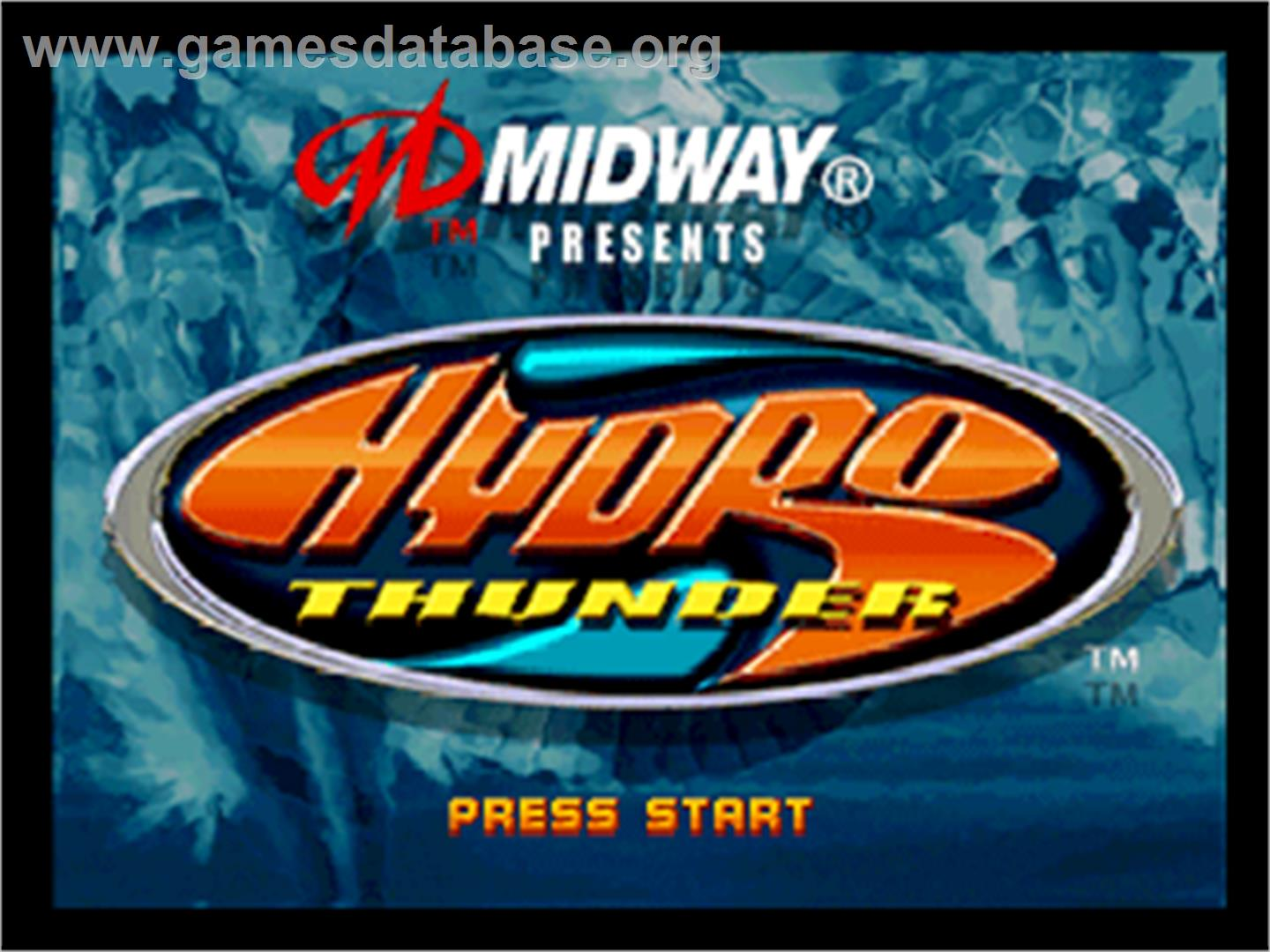 hydro thunder how to jump