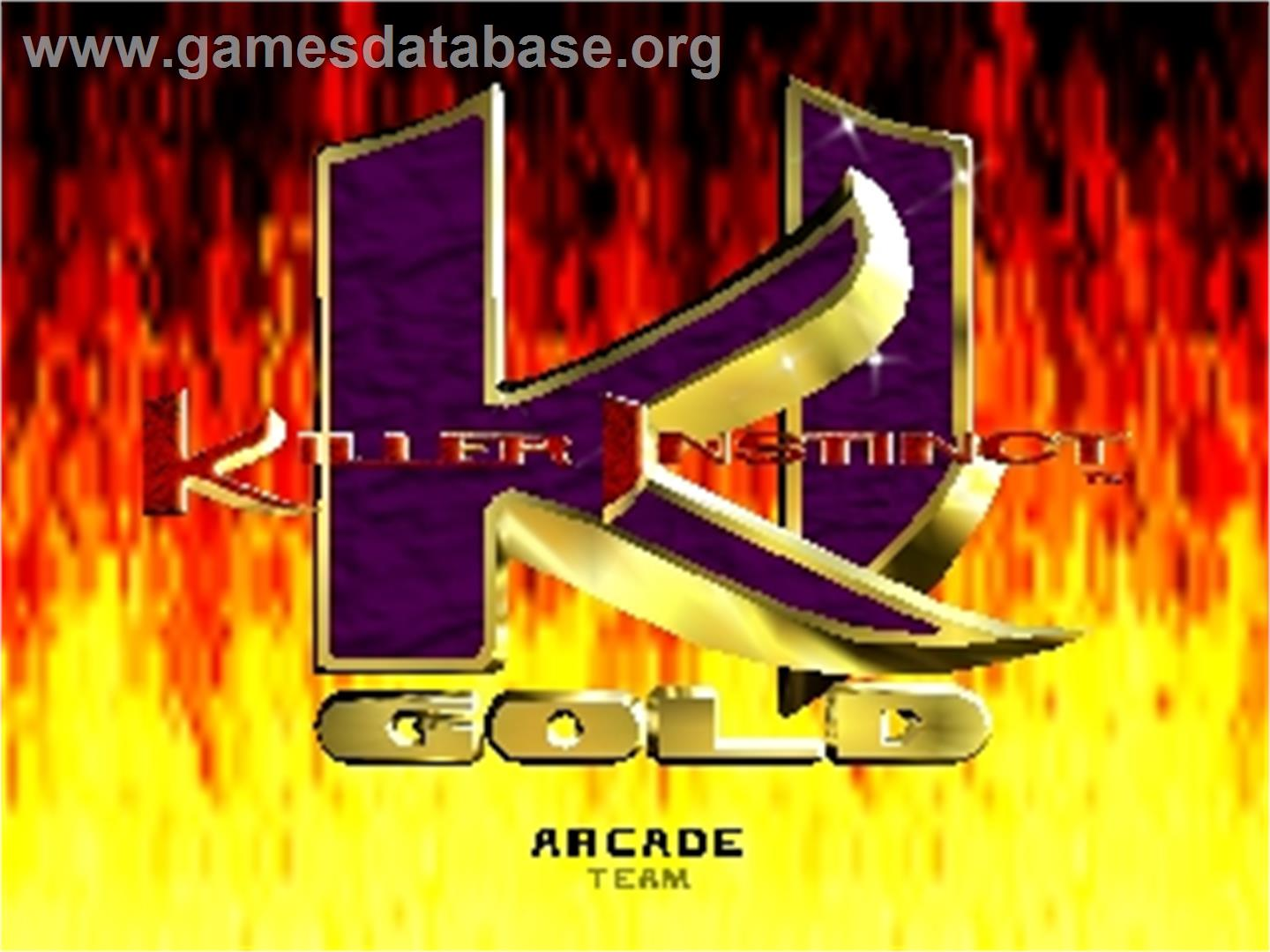 gold year 1996 tosec killer instinct gold category fighting mame n a