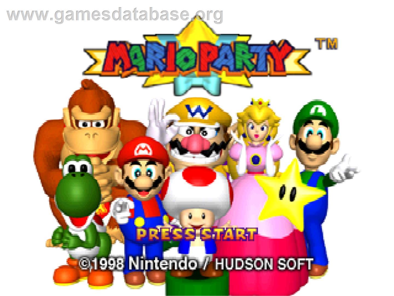 mario party - nintendo n64