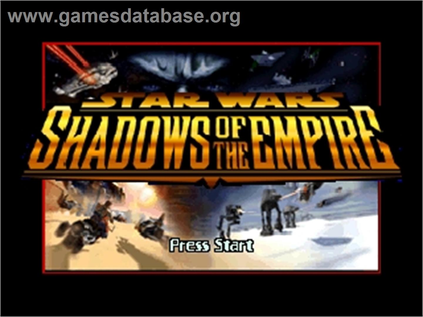 Star Wars: Shadows of the Empire - Nintendo N64 - Artwork - Title Screen