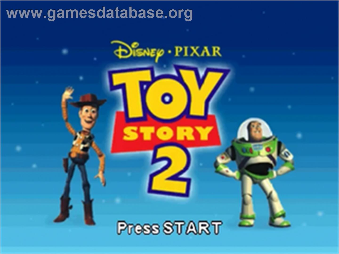 of Toy Story 2: Buzz Lightyear to the Rescue on the Nintendo N64