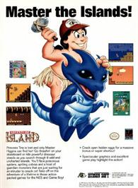 Advert for Adventure Island on the Nintendo Game Boy.