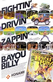 Advert for Adventures of Bayou Billy on the Nintendo NES.