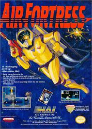 Advert for Air Fortress on the Nintendo NES.