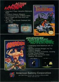 Advert for Amagon on the Nintendo NES.