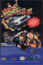 Advert for Back to the Future 2 & 3 on the Nintendo NES.