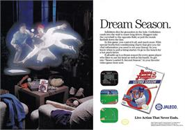 Advert for Bases Loaded II: Second Season on the Nintendo NES.
