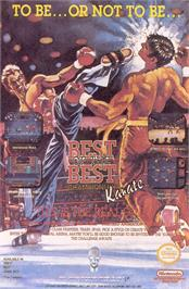 Advert for Best of the Best Championship Karate on the Sega Genesis.