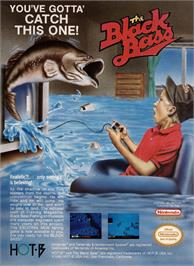 Advert for Black Bass on the Nintendo NES.